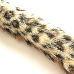 Leopard Tail Artisan Crafted Faux Fur Cosplay